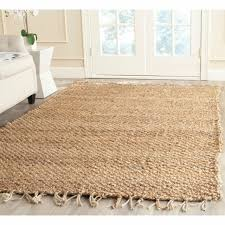 safavieh casual natural fiber hand loomed natural jute rug 9 x 12