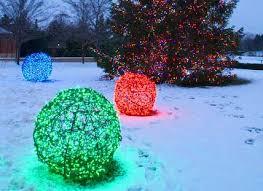 handmade outdoor christmas decorations. christmas ball lights handmade outdoor decorations