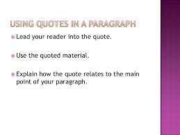 Quotes In A Sentence Simple Embedded Quotes