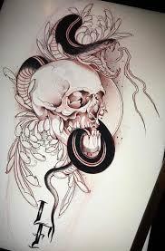 Skull Tattoo Design Ran татуировки татуировки с черепом и череп