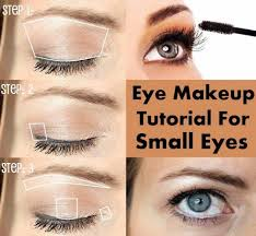 makeup tutorials for small eyes eye makeup tutorial for small eyes easy step by