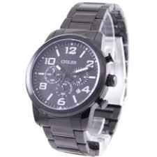 citizen men watches eco automatic lazada citizen chronograph men s black ip stainless steel strap watch an8055 57e