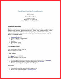 Retail Sales Associate Resume Sample Writing Guide Resum Skills