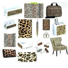 office leopard print. Leopard Print Office Supplies Style By On Pink