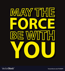 Star Wars Hd Printable Poster Wallpaper May The Force - May The Force Be  With You Vector - 1000x1080 - Download HD Wallpaper - WallpaperTip