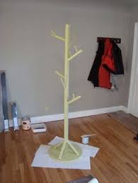 Woodland Coat Rack DIY Coat Tree for under 100 bucks Doing this to go with A's woodland 50