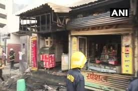 Byculla Red Light Area Maharashtra Fire Breaks Out In Four Shops In Mumbais