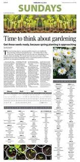 Seed Planting Chart Offers Guidance For Fairbanks Gardeners