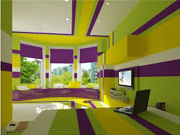 The King's Cake Bedroom: Purple, Green & Yellow | Sensory overload, Purple  bedrooms and Room