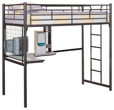 twin loft bed mila twin loft bed this rich wood desk bed amazing metal loft beds