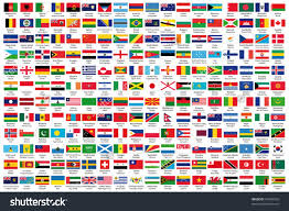 official flags world alphabetical order stock vector  216 official flags of the world in alphabetical order official country and capital