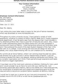 fashion assistant cover resumes amp cover s inside fashion cover cover letter fashion industry