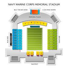 Navy Marine Corps Memorial Stadium 2019 Seating Chart