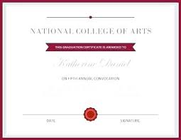 Honorary Certificate Template