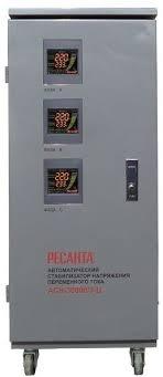 Купить <b>Стабилизатор напряжения РЕСАНТА АСН</b>-<b>30000/3</b>-<b>Ц</b> ...