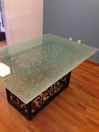 a cutting edge glass for table tops ed coffee repai thippo diy broken shattered effect repair tempered