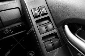 car door lock button. Car Door Interior Armrest With Window Control Panel, Lock Button, And Mirror Auto Button A