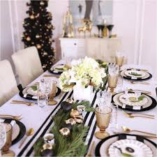 Christmas Table Setting How To Style A Christmas Table Setting Styled Settings