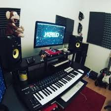 Awesome Dedicated Home Studio After Recording ...