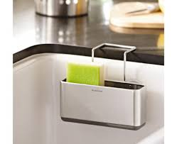the simplehuman slim sink caddy keeps your sink area neat and everything you need within easy kitchen caddykitchen hacksstainless steel