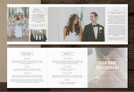 Photography Pricing Template Photography Pricing Template 5x5 Accordion Trifold Templates For