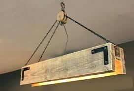 diy wood chandelier reclaimed wood chandelier reclaimed wood chandelier with pulley rustic dining room reclaimed wood