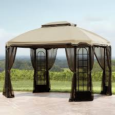 outdoor sears gazebo canopy tent costco patio gazebos regarding sears canopy tent