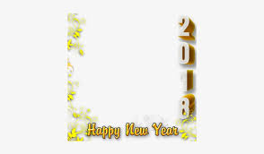 preview overlay happy new year 2018 frame