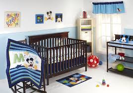 Amazon.com : Disney My Friend Mickey 4 Piece Crib Bedding Set : Baby