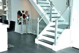 Contemporary Railings Stair Ideas For Home Modern Glass Railing ...