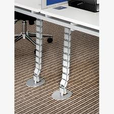 office desk cable management. Cable Management Vertical Riser Office Desk I