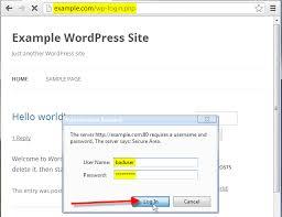 Prevent unauthorized WordPress Administrator Login Attempts ...