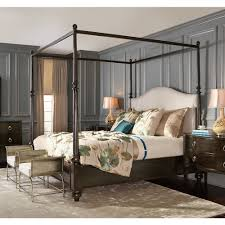 upholstered canopy bed. Wonderful Bed Sutton House Bedroom Collection In Upholstered Canopy Bed N