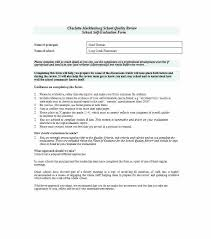 Employee Self Assessment Personal Evaluation Template Form Sample ...