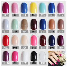 Fake Nail Type Chart Rose New Round Soft Pink Nude Color Red Oval Head Brown Blue Fake Nail Yellow Mint Color Candy Purple Khaki White Black Types Of False Nails Cheap