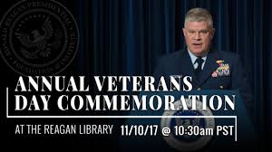 Annual Veterans Day Commemoration The Ronald Reagan Presidential