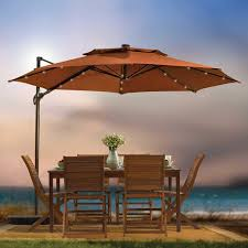 outdoor patio cantilever umbrella 11 foot round canopy lights umbrellas canadian tire interior remodeling with solar