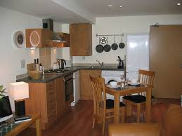 spacious small kitchen design. Kitchen Spacious Small Apartment With Grey Ceramic Floor Ideas 44 Design