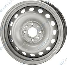 Колесный <b>диск trebl 8114t</b> 6x15/4x100 d54.1 et48 silver купить в ...