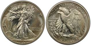 1942 Half Dollar Value Chart 1942 50c Proof Walking Liberty Half Dollar Pcgs Coinfacts