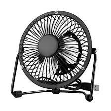 quiet desk fan.  Quiet USB Mini Desk Fan Quiet Desktop Electric Fans 4 Inch 360 Rotation  Portable Cooling And T