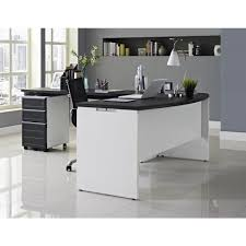 white office credenza. Altra Furniture Pursuit White And Gray Desk With Storage Office Credenza :