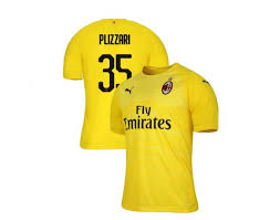 You'll receive email and feed alerts when new items arrive. Alessandro Plizzari Ac Milan 18 19 Yellow Men S Goalkeeper Authentic Jersey