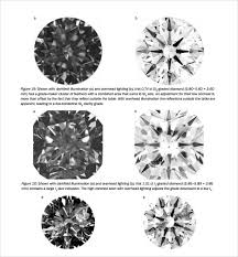 7+ Diamond Grading Chart Templates | Sample Templates