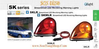 Đèn báo hiệu dẫn đường Xe ưu tiên Qlight SKLR, SKMLR, Quay, Bóng LED - Đèn  Loa Còi Cảnh Báo Qlight - Den Loa Coi Canh Bao QlightĐèn Loa Còi Cảnh Báo