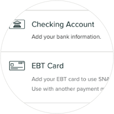 Once the snap ebt card has been registered, food items will be marked snap ebt eligible. Ebt Online Payment Giant