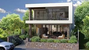 view our floreat project image of a narrow lot homes perth