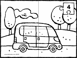 On The Street Colouring Pages Kiddicolour
