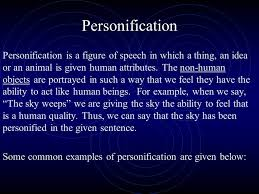key ap language terms ppt video online  personification