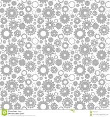 Gear Pattern Simple Seamless Gear Pattern Illustration 48 Megapixl